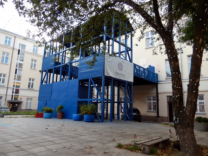 Niebostan, Łódź
