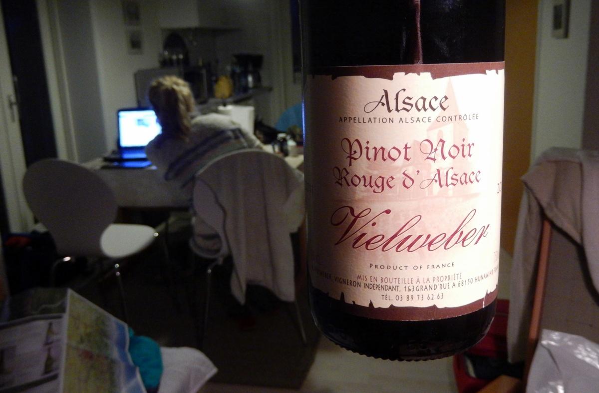 Alzacja - wino