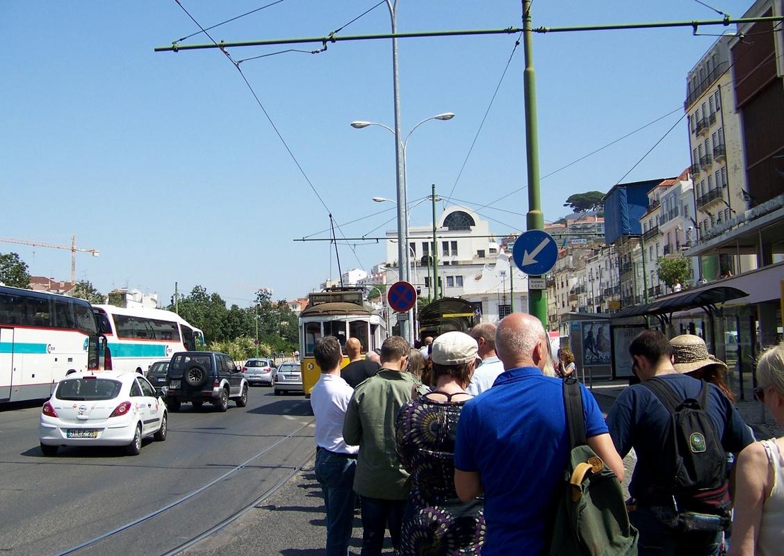 Lizbona - tramwaj 28