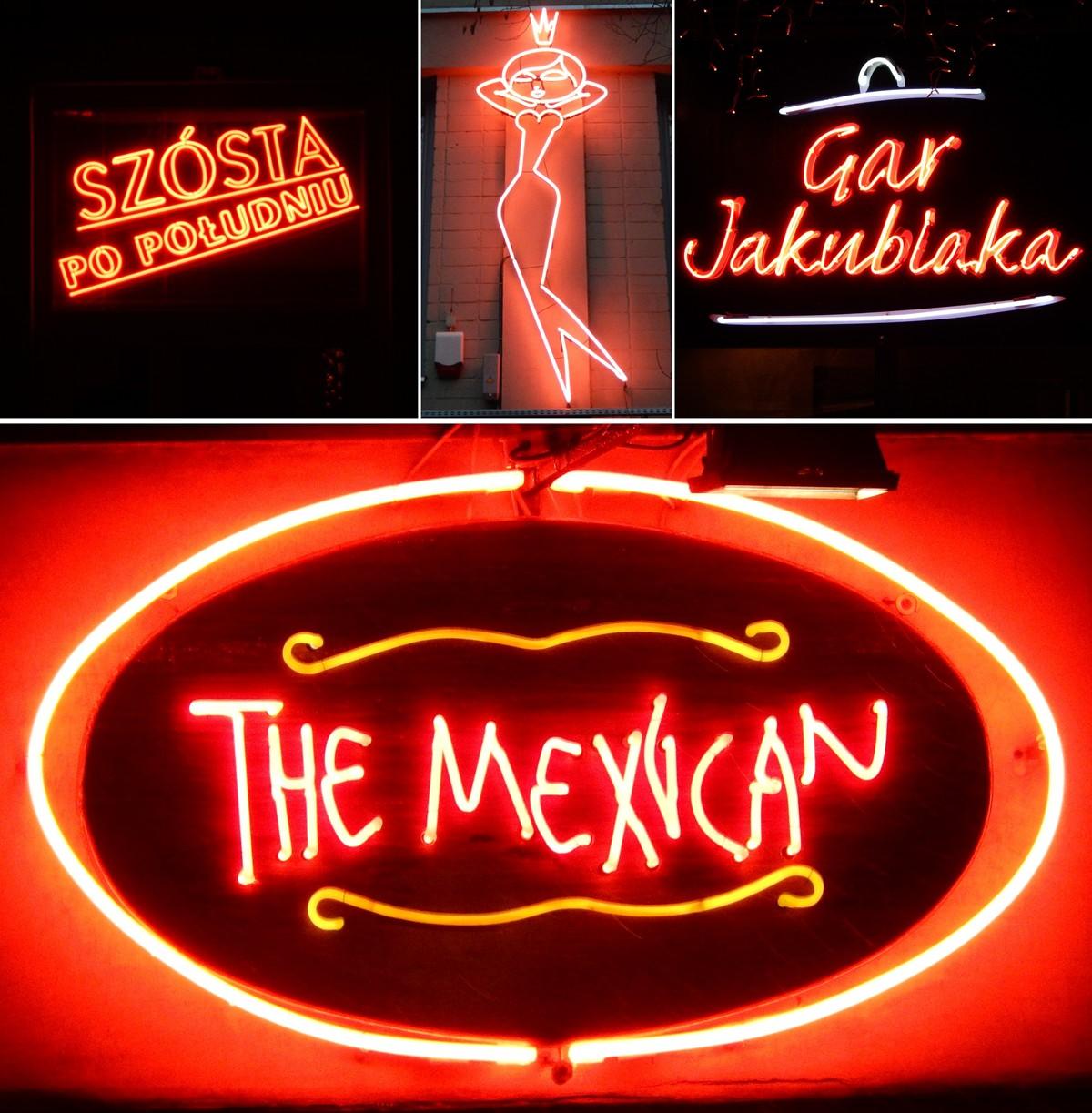 Od lewej: Szpitalna 5, Mińska 25, Jasna 10 i The Mexican - Zgoda 6