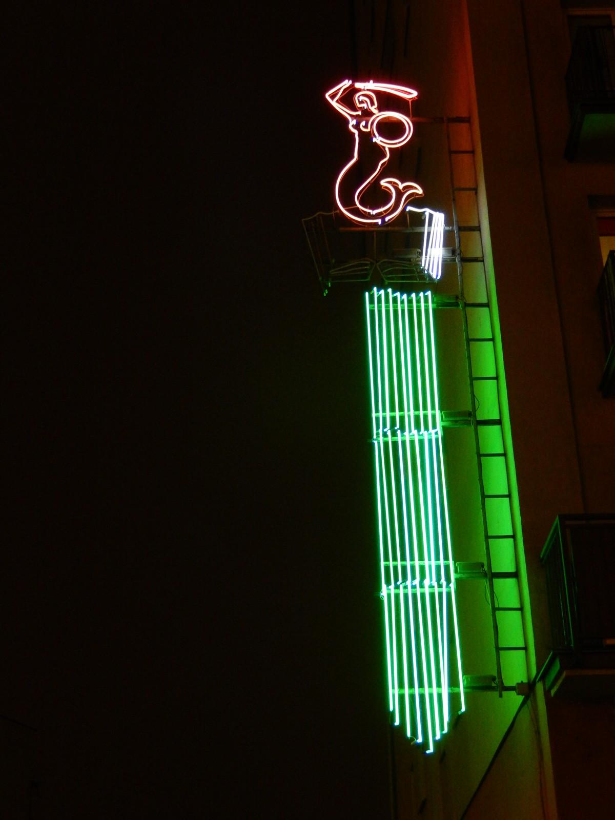Neony, Warszawa