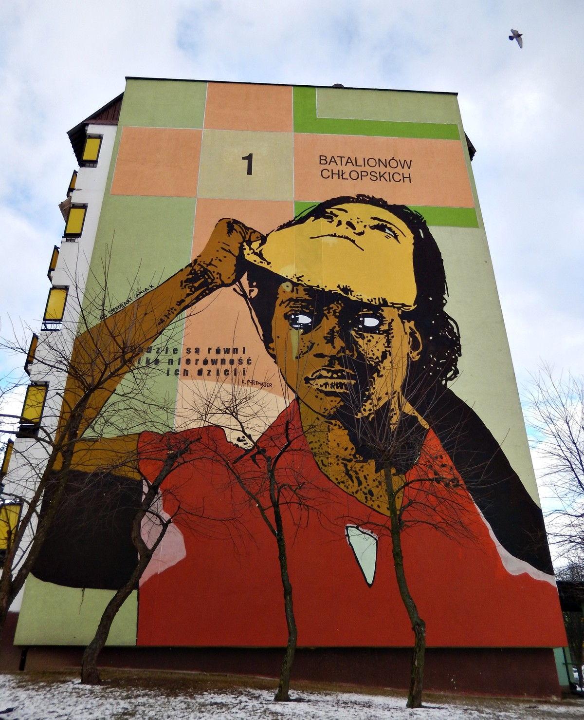 mural graffiti białystok