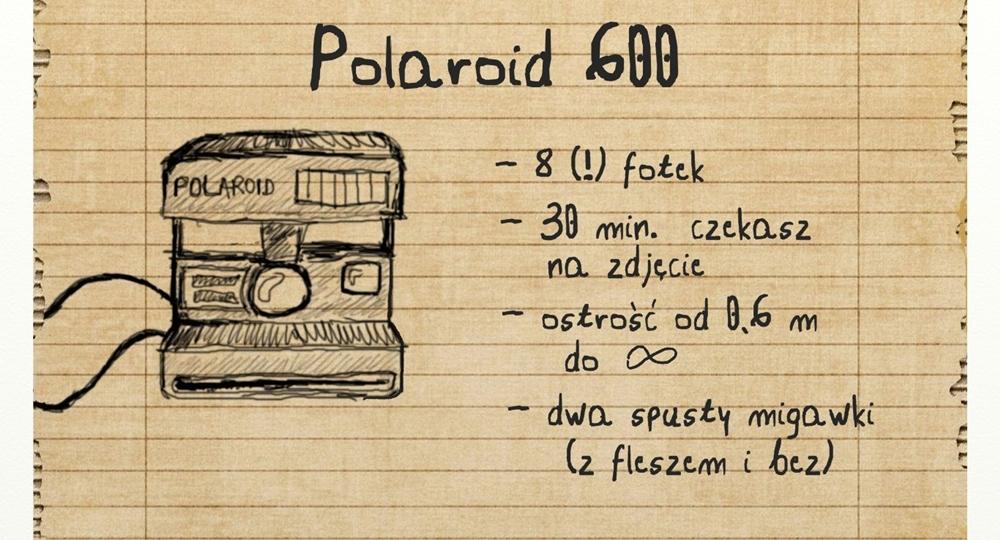 polaroid szkic
