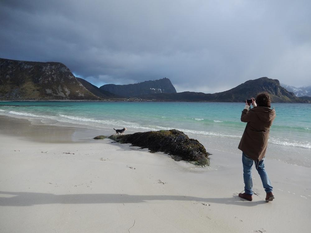 Plaża Haukland, Lofoty