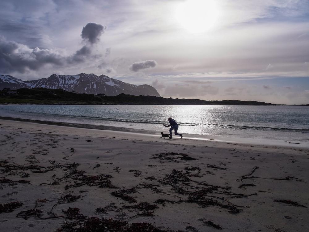 Wyspa Gimsøya - Lofoty