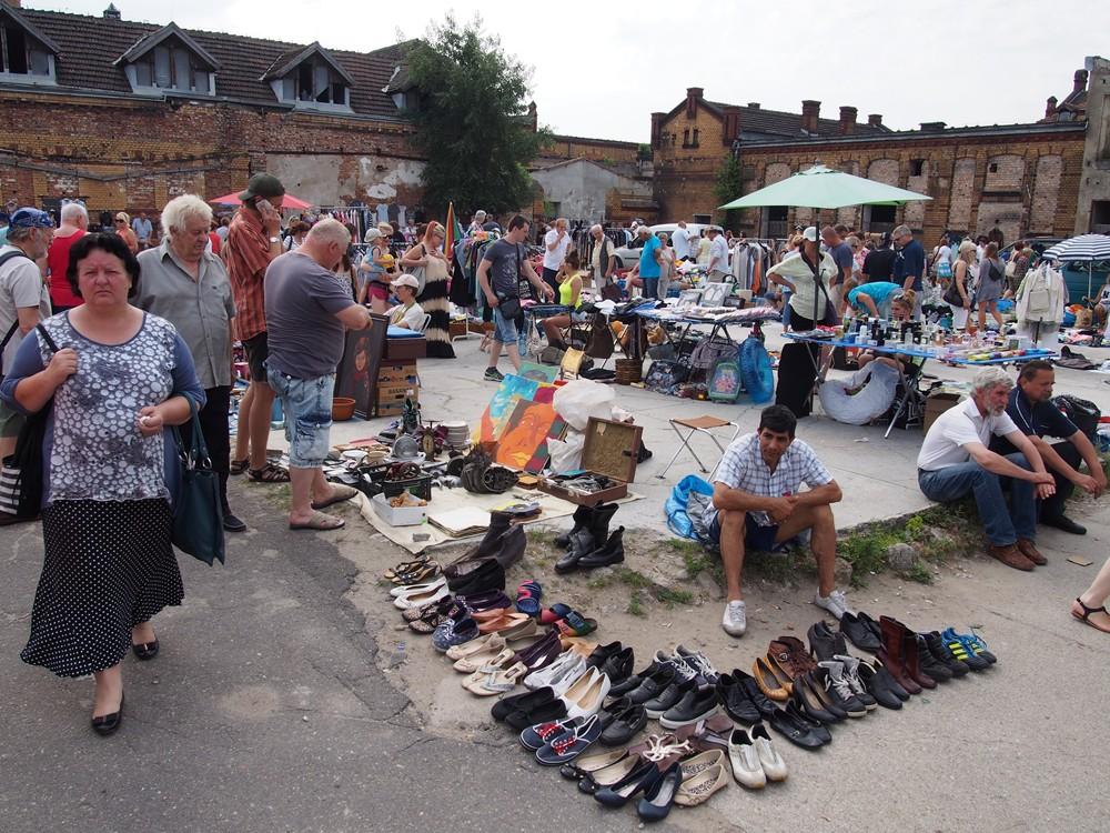 Pchli targe w Starej Rzeźni, Poznań