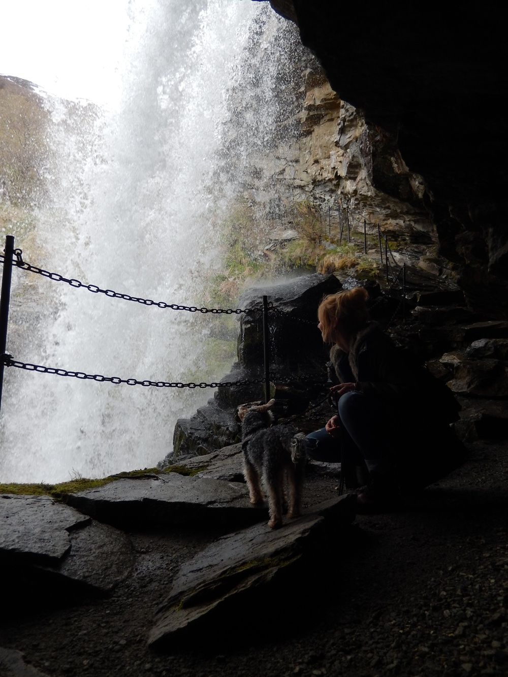 Storseterfossen wodospad