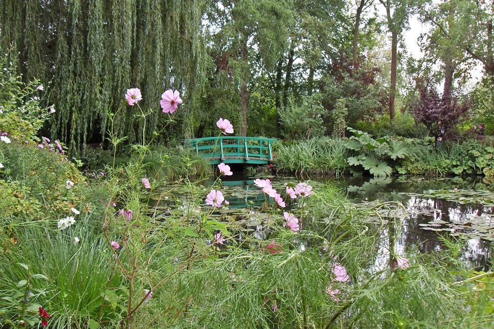 Giverny, Japoński mostek, Monet