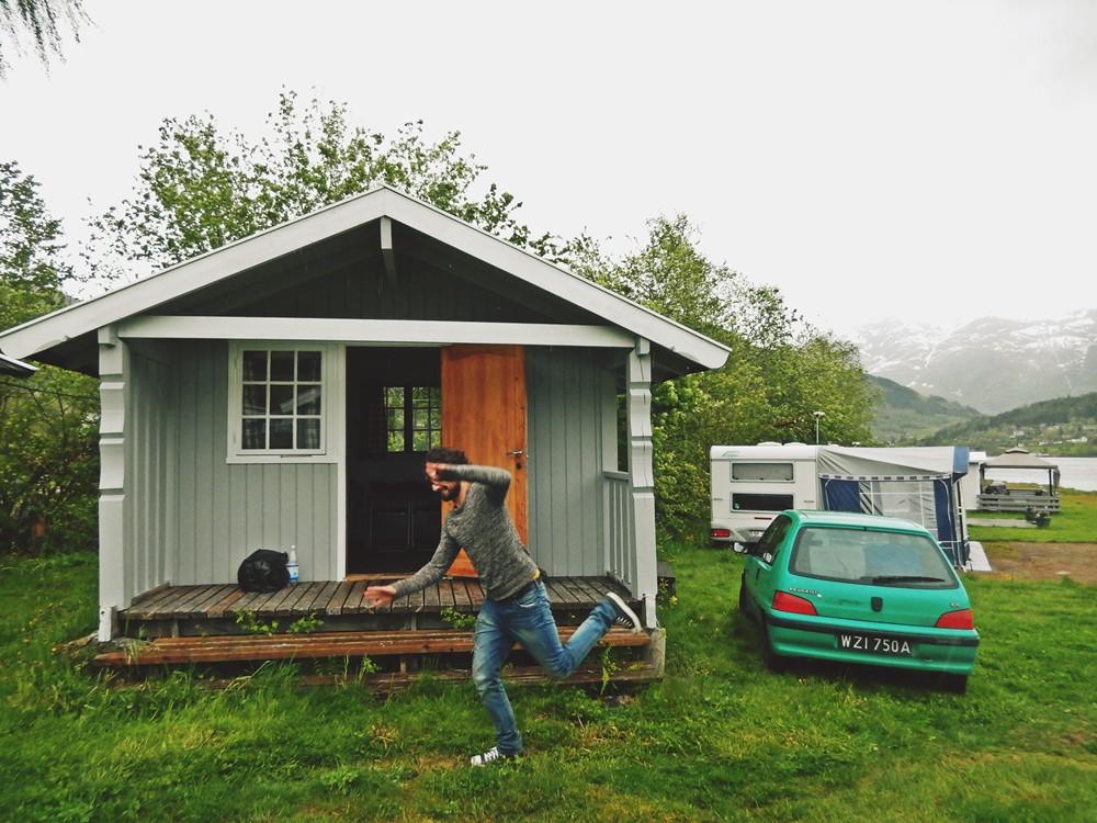 kemping w norwegii