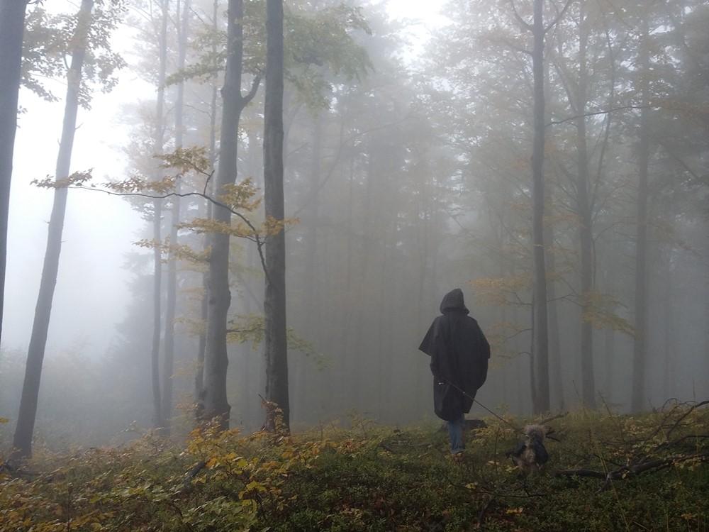 Mgła na szczycie Turoń