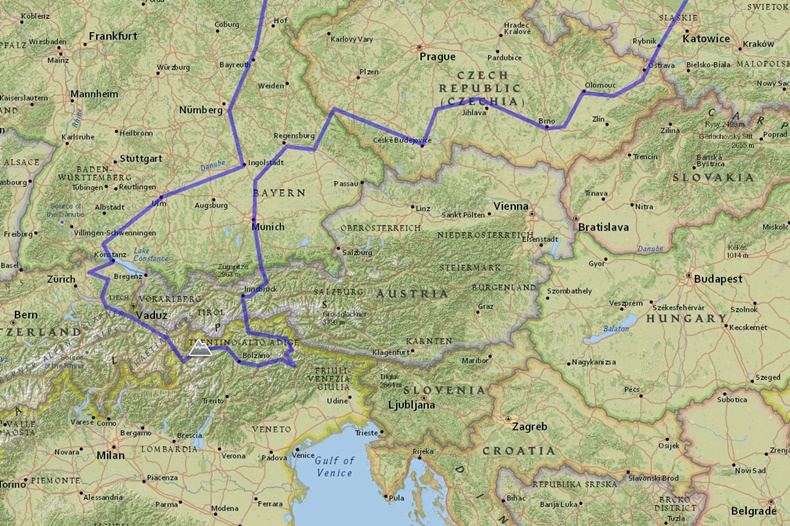 Alpy Mapa Makulscy Com