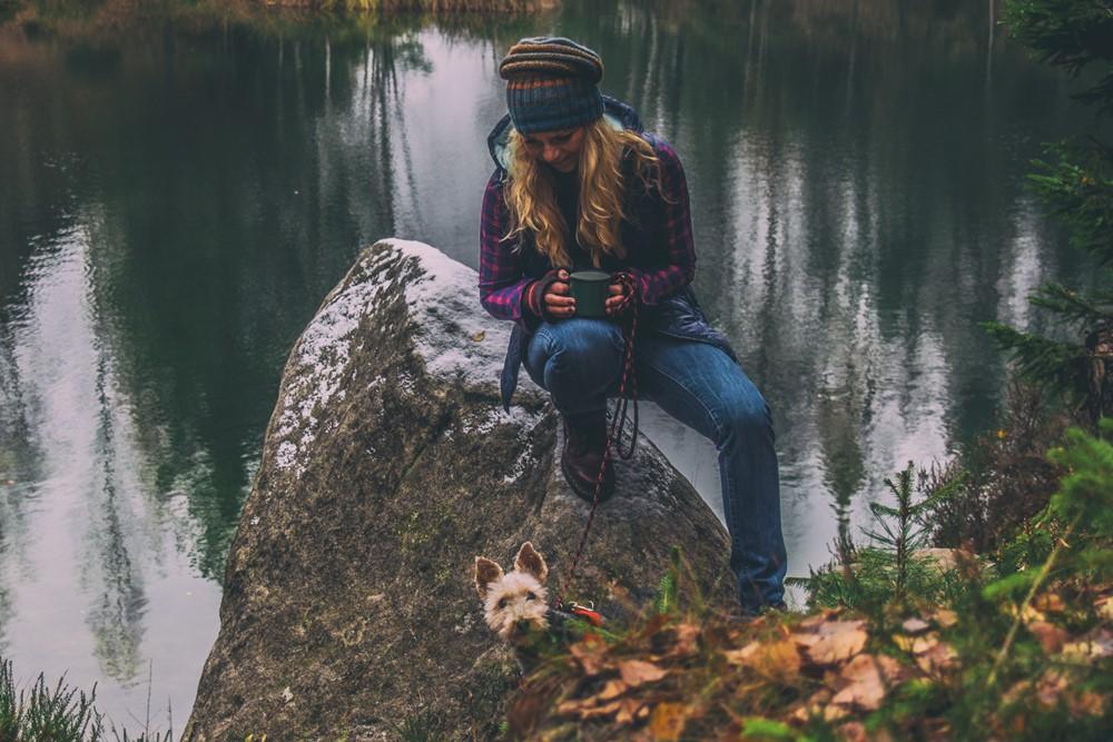 Adršpach z psem