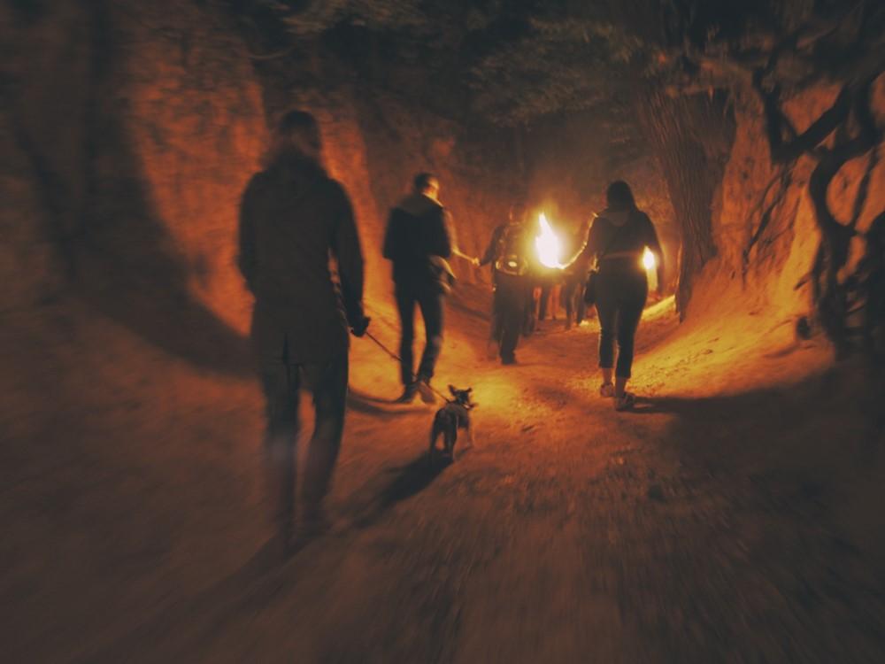 Nocne zwiedzanie Kaziemirza Dolnego