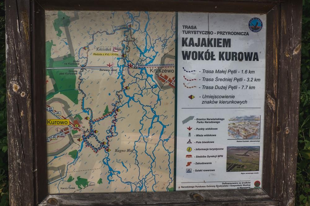Szlaki wodne Narwiański Park Narodowy