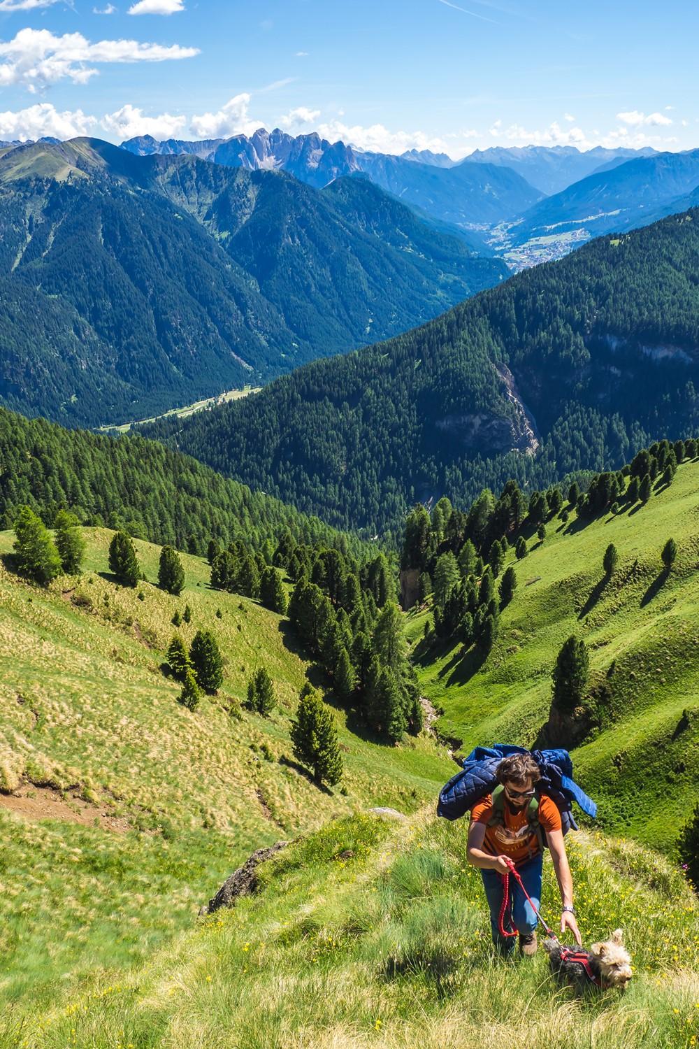 Szlak wokół Sassolungo