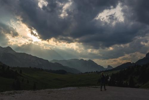 Szlaki w Dolomitach - pratto piazza