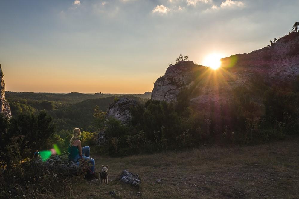 góra zborów - jura z psem