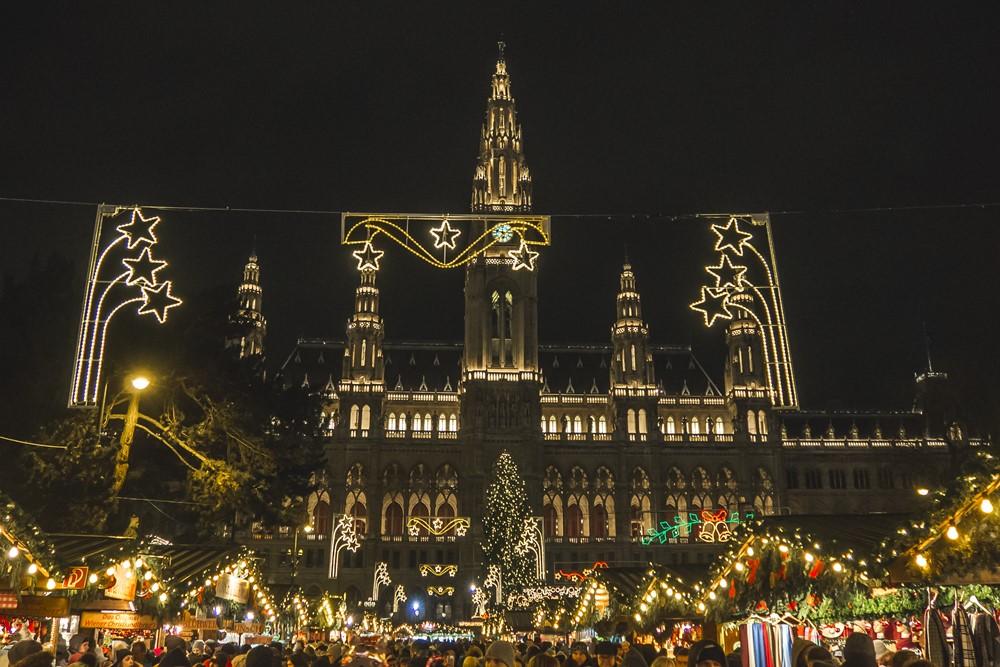 christkindlmarkt wiedeń