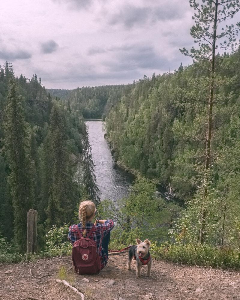 szlak Pieni Karhunkierros, Park Narodowy Oulanka