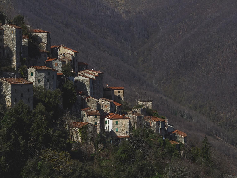 Opuszczone miasto Lucchio